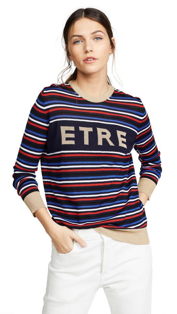 Etre Cecile Etre Boyfriend Knit Sweater in navy / multi
