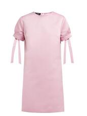 dress,mini dress,mini,pink,satin