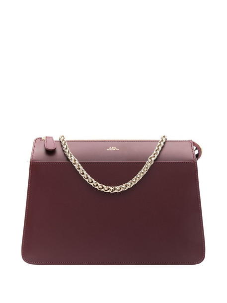 A.P.C. Ella shoulder bag in red