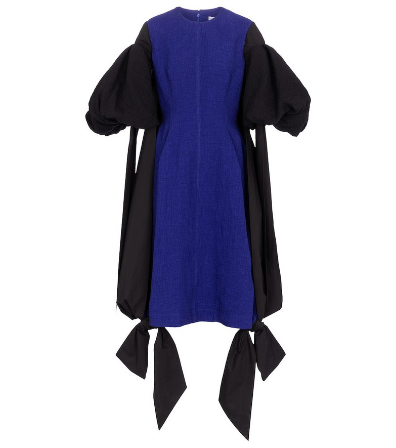 Loewe Cotton midi dress in black