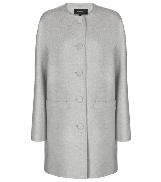 Marc Jacobs Wool, cashmere and silk coat in grey