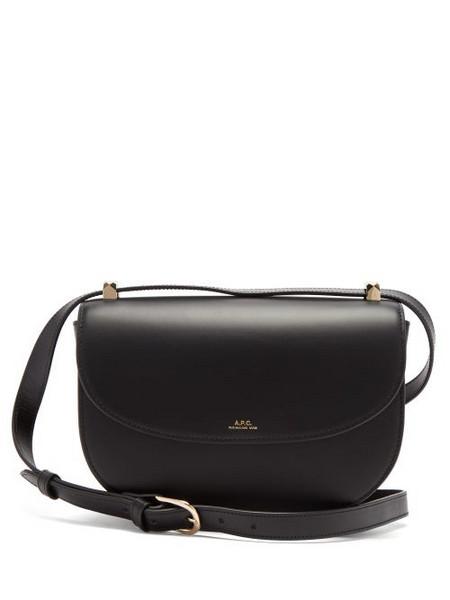 A.P.C. A.P.C. - Genève Cross-body Leather Bag - Womens - Black