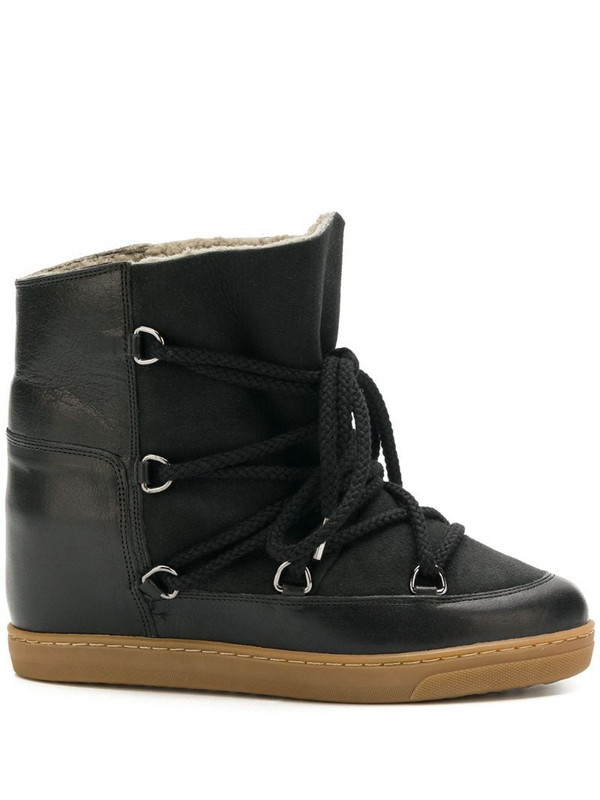 Isabel Marant Nowles snow boots in black