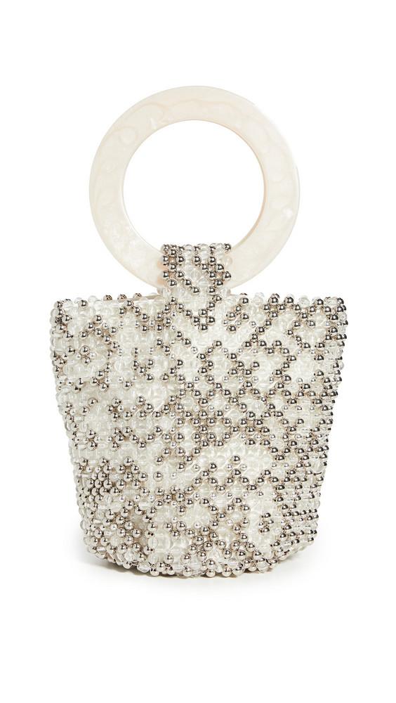 Cleobella Tanner Party Bag in ivory