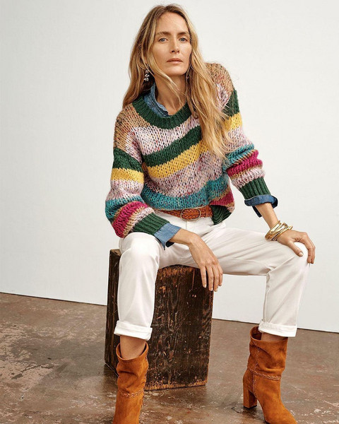 jewels shoes sweater