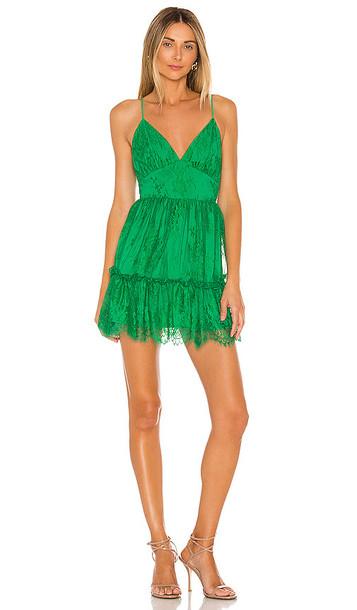 NBD Margarita Mini Dress in Green