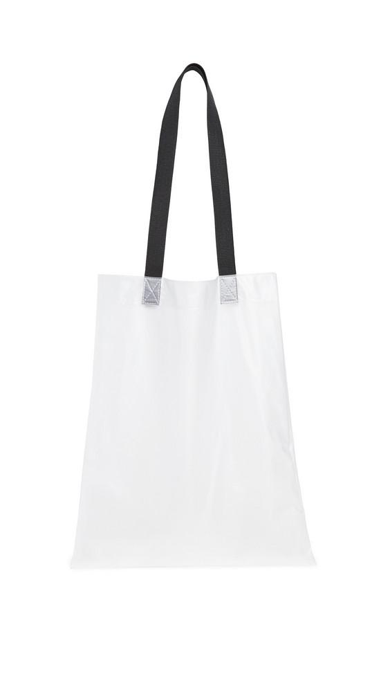 Rains Transparent Shopper in white