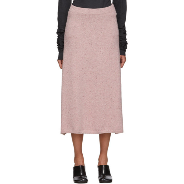 Joseph Pink Tweed Skirt