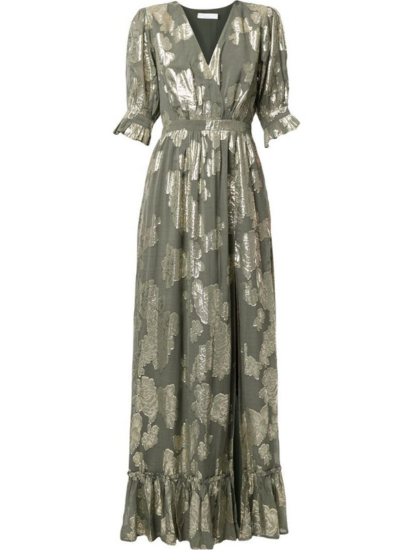 We Are Kindred Adele maxi dress in green