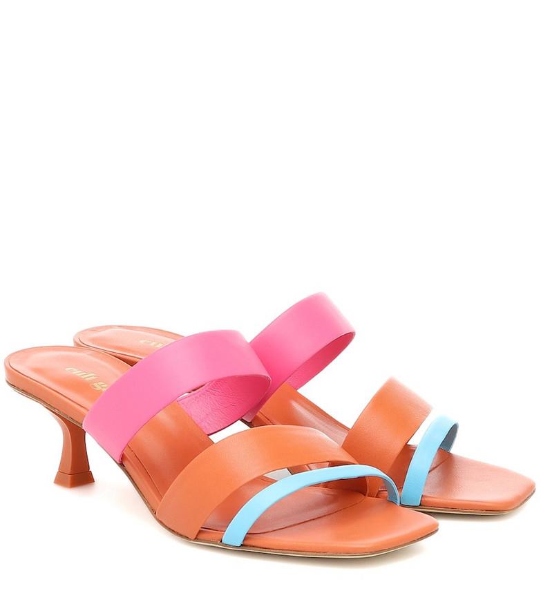 Cult Gaia Roksana leather sandals