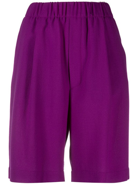 Jejia tailored shorts in purple