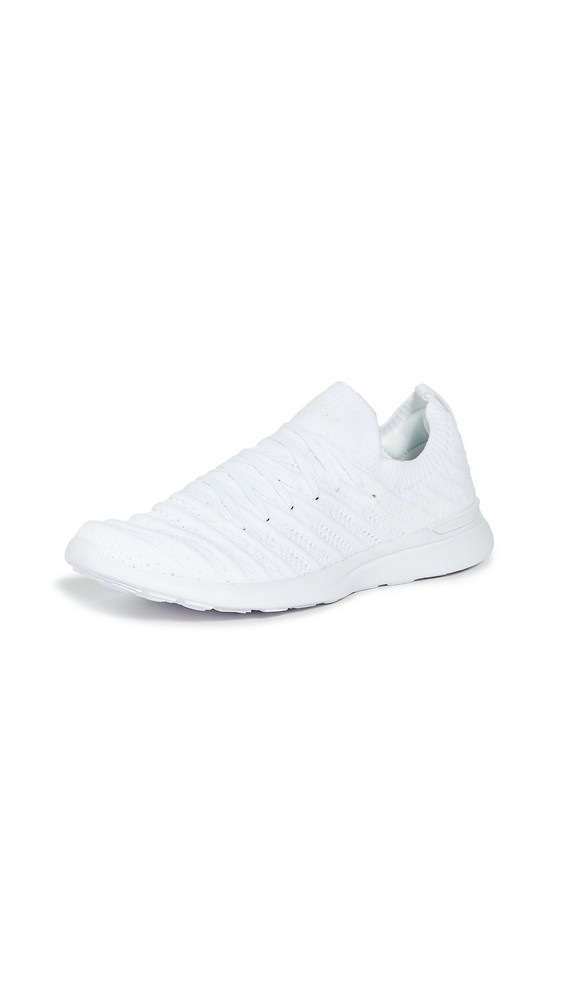 APL: Athletic Propulsion Labs Techloom Wave Sneakers in white
