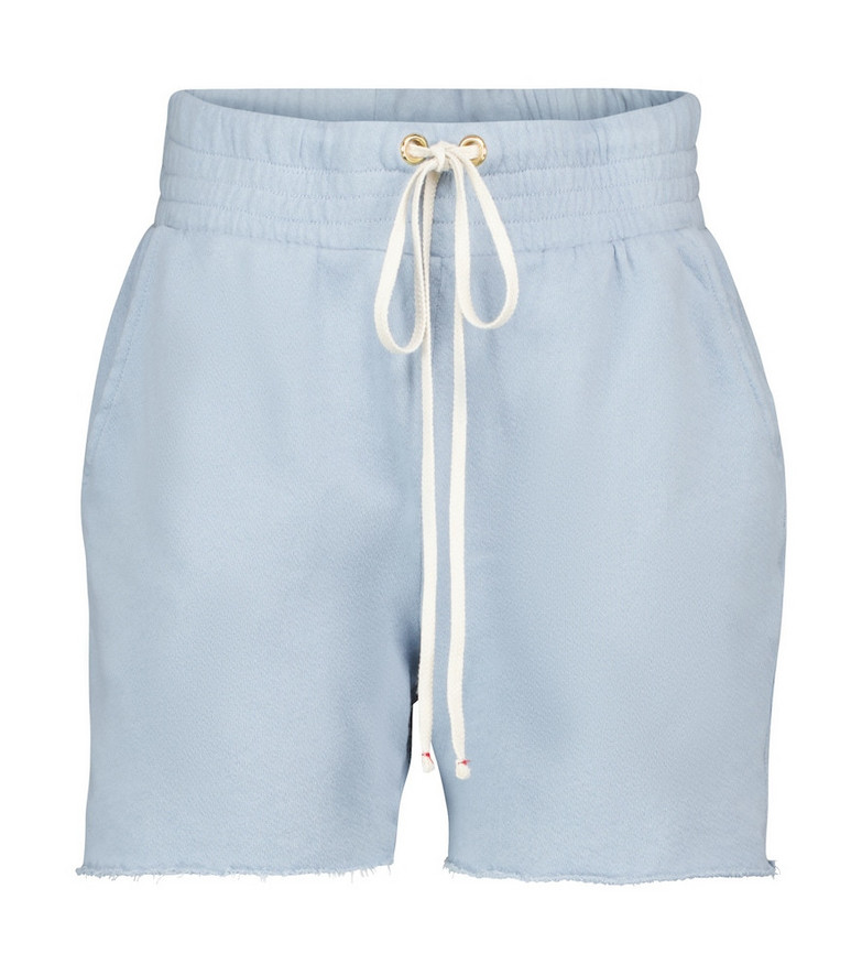 Les Tien Exclusive to Mytheresa – Yacht cotton shorts in blue
