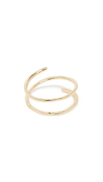 Gorjana Taner Coil Ring in gold
