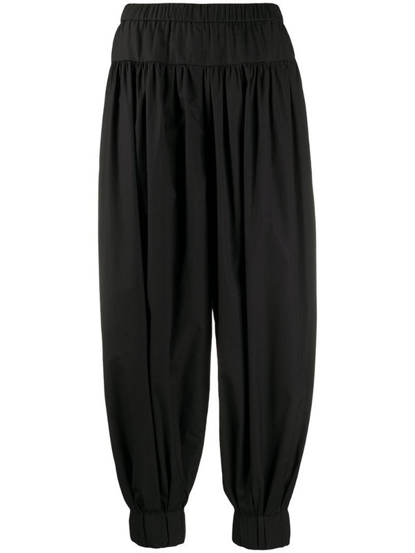 Christian Wijnants high-waist tapered trousers in black