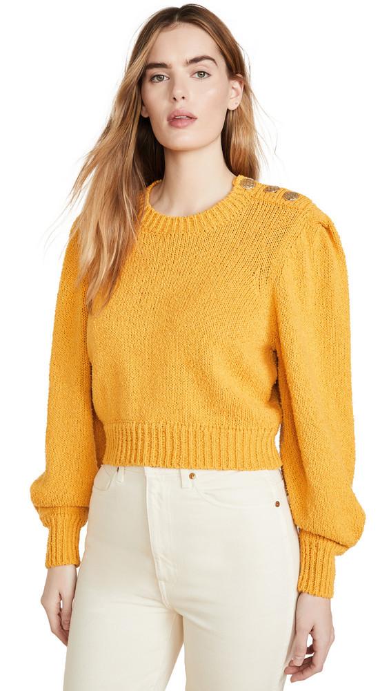 Ronny Kobo Sallynna Sweater in gold / yellow