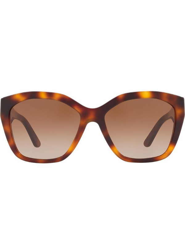 Burberry Eyewear square frame sunglasses in brown