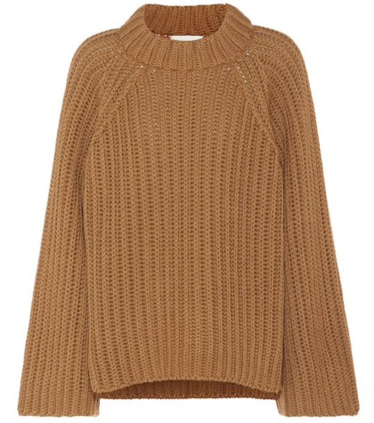 Arjé Steph wool and silk sweater in brown
