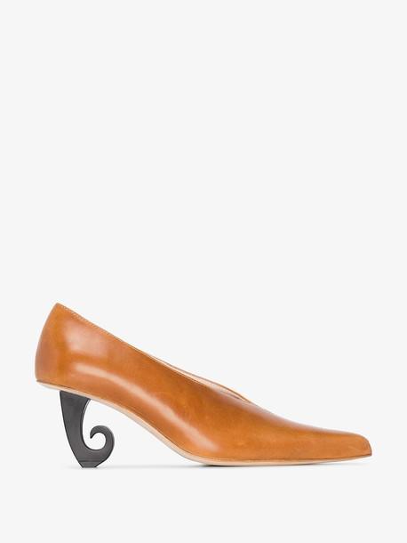 Kalda brown Alda leather pumps