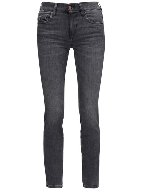 DIESEL D-sandy Straight Denim Jeans in grey