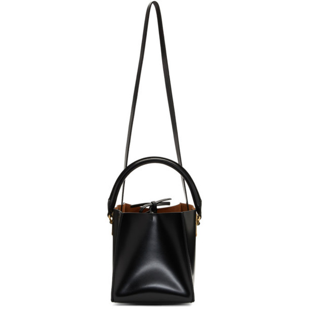 Sophie Hulme Black Nano Albion Cube Bag
