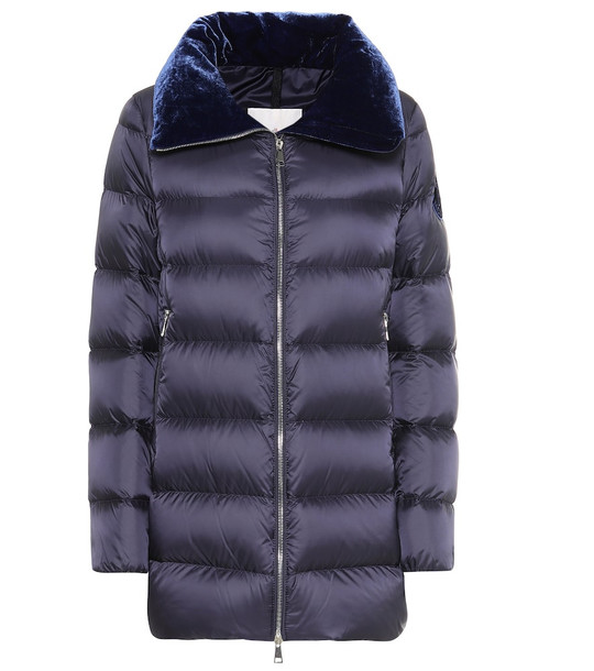 Moncler Torcon down jacket in blue
