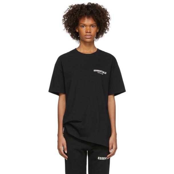 Essentials Black Logo T-Shirt