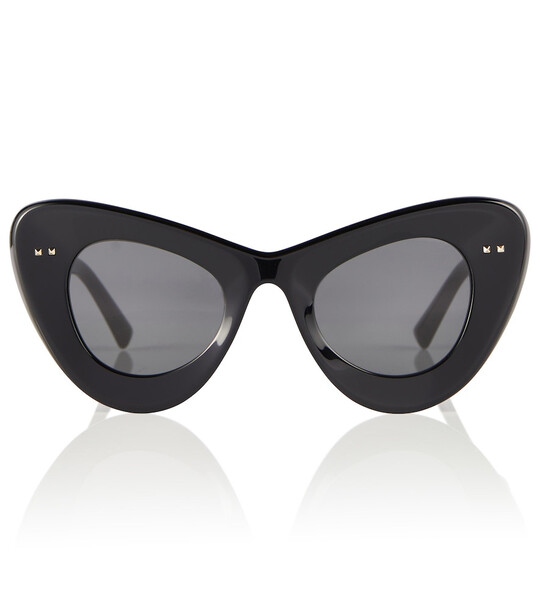 Valentino Cat-eye sunglasses in black