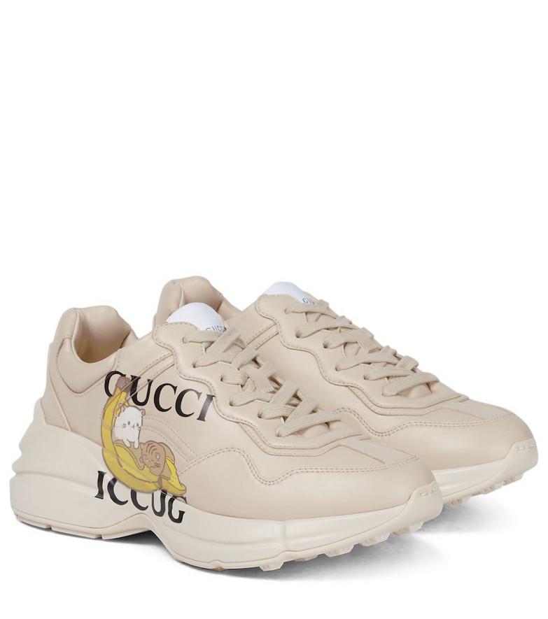 Gucci Bananya© Rhyton sneakers in white