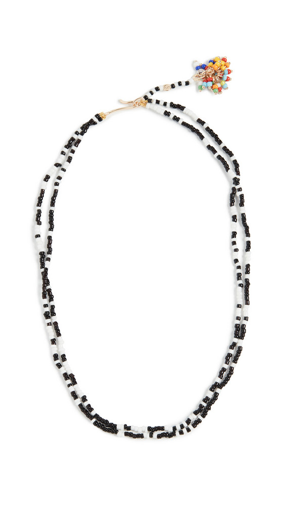 Roxanne Assoulin Sprinkle Necklace in black / white