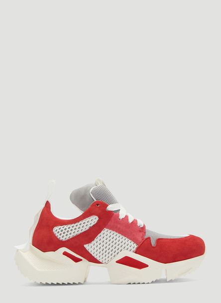 Unravel Project Oversized Sole Sneakers in Red size EU - 37