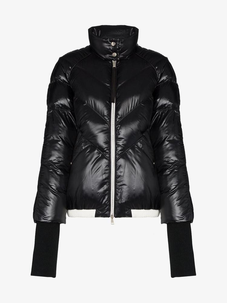 Moncler Yalou puffer jacket in black