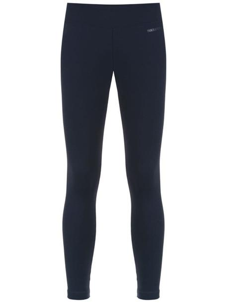 Track & Field zip detail leggings in blue