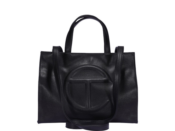 Telfar Large Shopping Bag in black