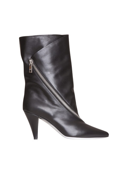 Givenchy Boot Botte Show In Leather in nero
