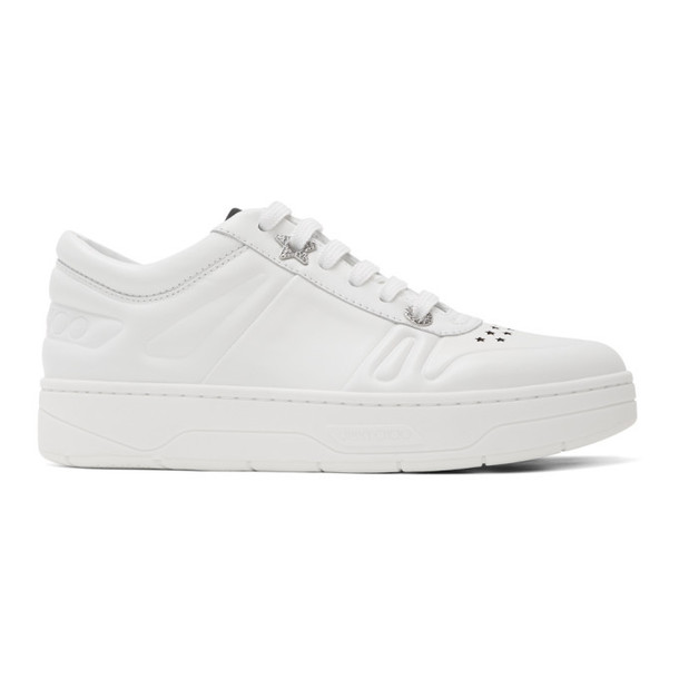 Jimmy Choo White Hawaii/F Sneakers
