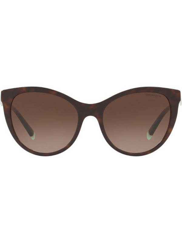 Tiffany & Co Eyewear cats eye sunglasses in brown