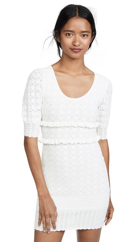 Ronny Kobo Colby Dress in white
