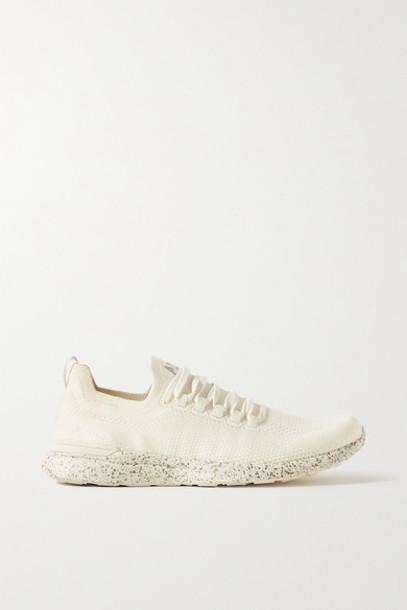 APL Athletic Propulsion Labs - Techloom Breeze Mesh Sneakers - Cream