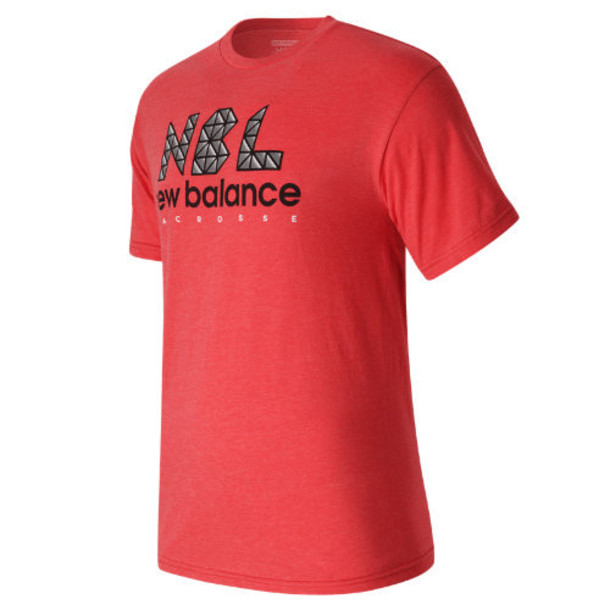 New Balance 752 Men's NB Lacrosse Tri Tee - Red (TMMT752FOR)