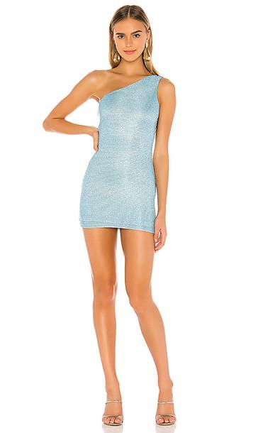 superdown Tiffany Mini Dress in Blue