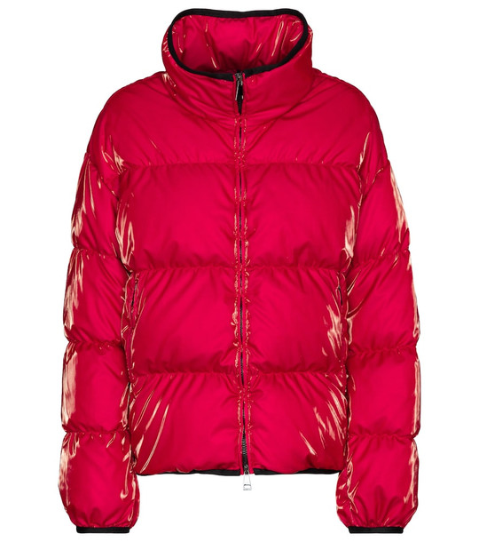 Moncler Grenit down jacket in pink