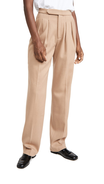 ANINE BING James Trousers in brown