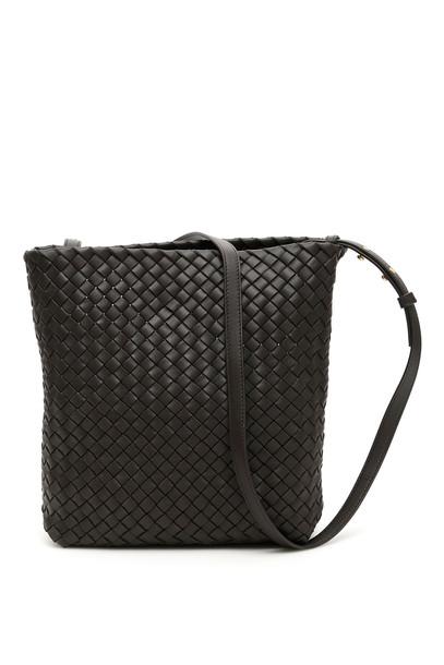 Bottega Veneta Crossbody Bucket Bag in gold