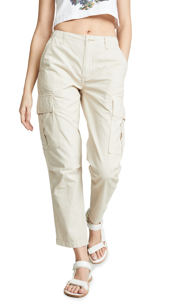 RE/DONE Cargo Pants in sand