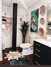 home accessory,boho bathroom design