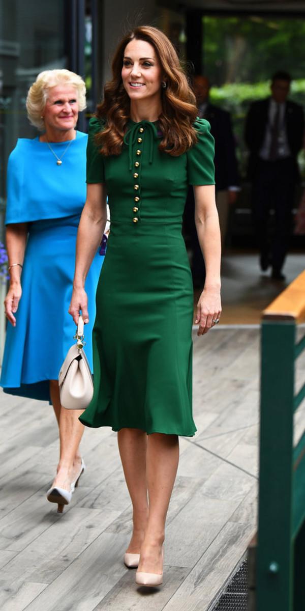 bag kate middleton green green dress midi dress celebrity