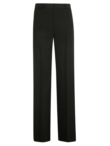 Burberry Wide Leg Trousers in black