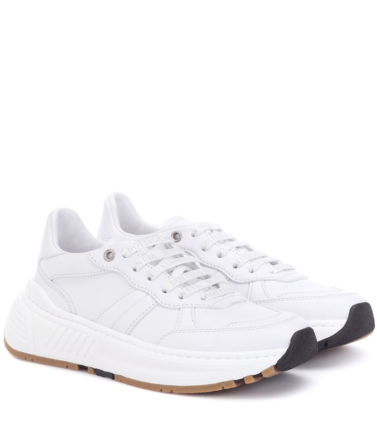 Bottega Veneta Speedster leather sneakers in white