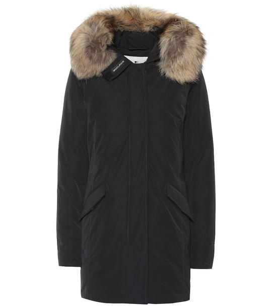 Woolrich Luxury Arctic down coat in black
